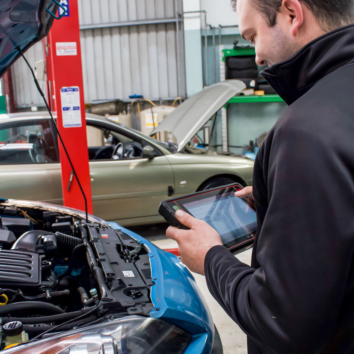 service - diagnostic